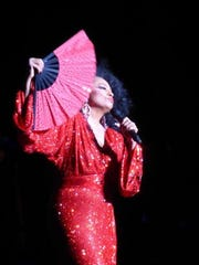 Legendary singer Diana Ross is on tour again, including