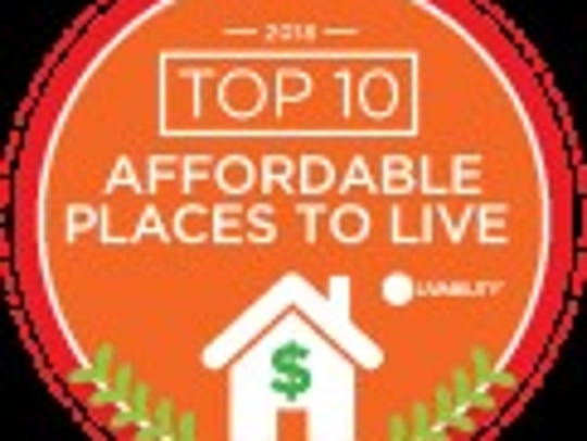 Knoxville is number eight on Livability.com's list
