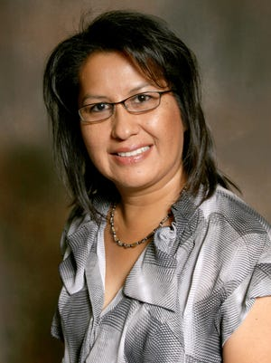 Lorraine Manavi, an assistant professor of Navajo language at San Juan College, will speak on Oct. 1 about the Navajo Rosetta Stone project at the college in Farmington.