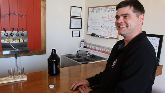 Rob Shenko, a customer and neighbor of Little Dog Brewing