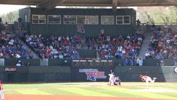 Louisiana Tech packed almost 6,000 fans into J.C. Love Field at Pat Patterson Park for its three-game series with Rice.