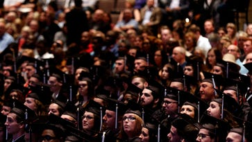 Photos from 2018 college graduations