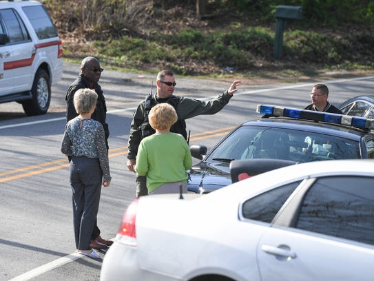 Greenville County deputies continue to search on Friday,