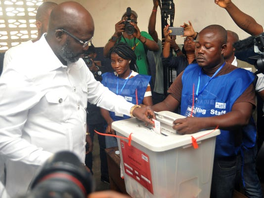 AP LIBERIA ELECTION, I ELN LBR