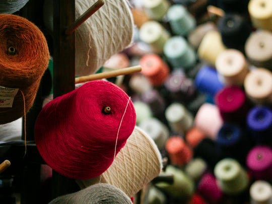 There are over 7,000 various yarns for sale at Davidson