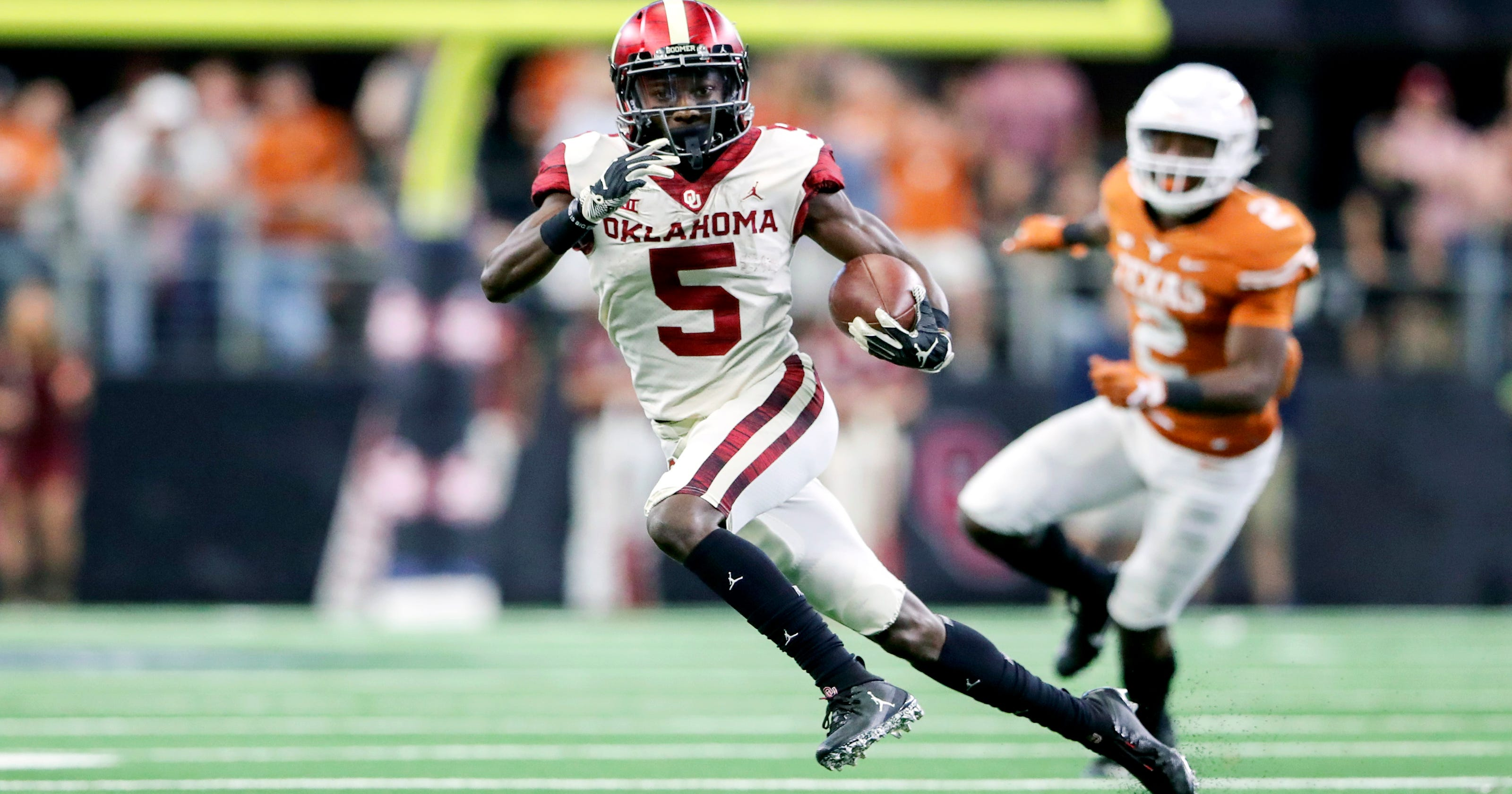 Marquise Brown  Oklahoma football star to miss NFL combine with injury 07721f183