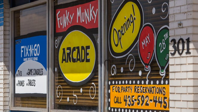 Funky Munky Arcade provides children a place to hang out, and adults to reminisce, with arcade games, prizes and coming soon, pizza.
