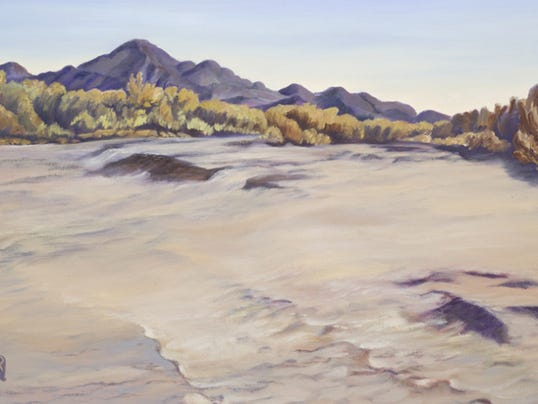 Rami Scully, whose painting is shown here, is a featured artist for May at the Mesilla Valley Fine Arts Gallery in Mesilla. The gallery will host a special Mother's Day Reception with artists' demonstrations, refreshments and entertainment from 1 to 4 p.m. May 9.