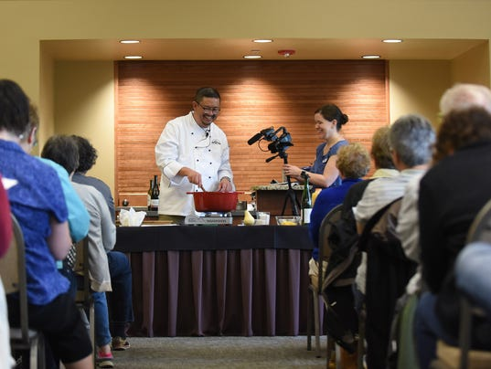 Victor Panichkul, Statesman Journal Food & Wine Columnist, will lead a cooking demonstration on cooking with beer at Roth's West Salem store at 6:30 p.m. on Nov. 6. (Photo: Statesman Journal file)