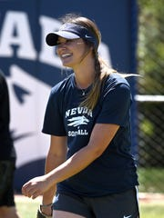 Moorpark High graduate Erika Hansen could be named an All-American after her remarkable senior season for the University of Nevada softball team comes to an end.