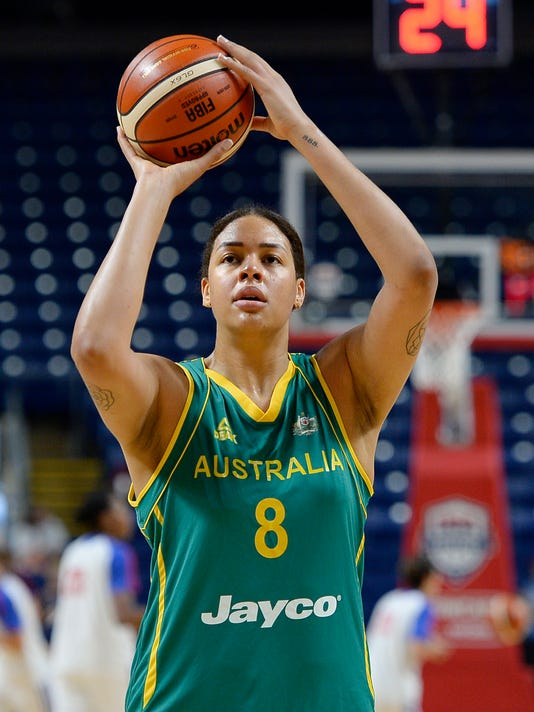 liz cambage ready to help australia hoops medal at olympics