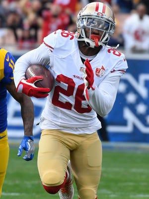 49ers cornerback Tramaine Brock was arrested on suspicion of felony domestic violence Thursday, Santa Clara (Calif.) police said in a news release.