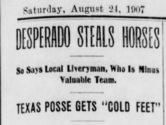 ALAMOGORDO DAILY NEWS AUG. 24, 1907