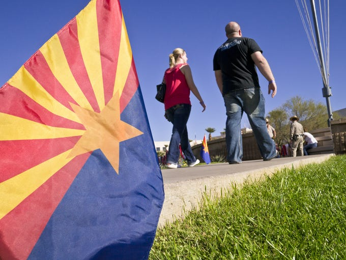 According to 2010 census data, Arizona ranks No. 13
