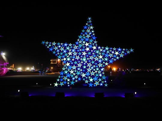 """""""Wish Upon a StarWay"""" is a piece by Deborah Davies formerly featured in the Reno Sculpture Fest."""