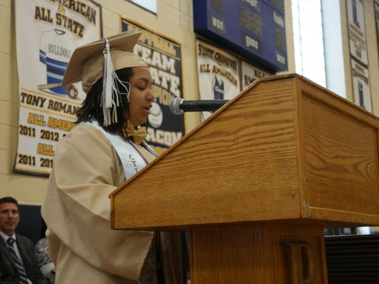 Beacon High School's class of 2018 Rayna Thompson was