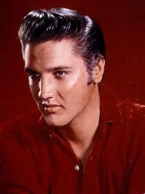 Elvis Presley was on the Ed Sullivan Show in 1956.