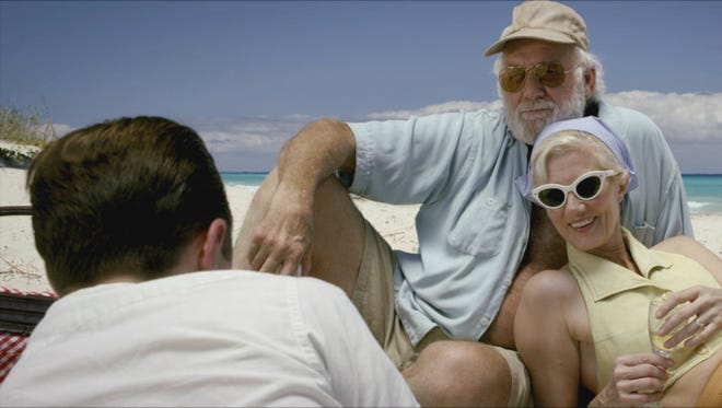 """It's a day in the sun for the Hemingways (Adrian Sparks and Joely Richardson) in """"Papa: Hemingway in Cuba."""""""