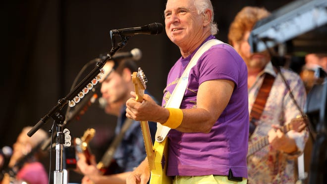 Jimmy Buffett and the Coral Reefer Band perform at Riverbend on July 21.