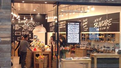 Lush opens its first Iowa store at Jordan Creek Town Center in West Des Moines.