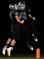 Drew Bowen, right, played a big part in Williamston's