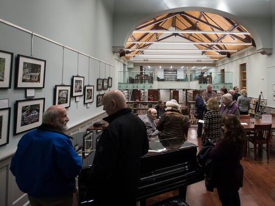 Newly-renovated Oakland Library on Thursday, February