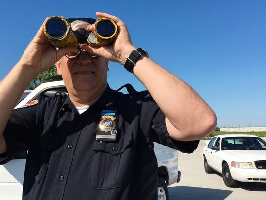 Gibsonburg Police Chief Paul Whitaker helped the Sandusky