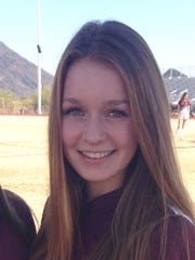 Delaney Rohde, from Scottsdale Desert Mountain, is