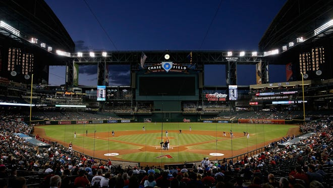 Chase Field in Phoenix, Arizona.