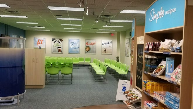 Inside the new Weight Watchers Sioux Falls Center in the Western Mall.