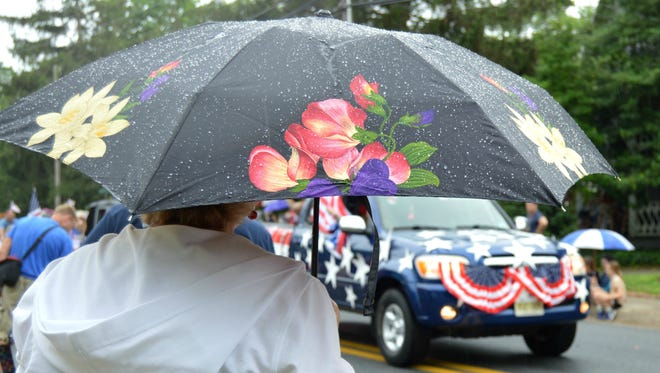 A little rain on Monday, July Fourth, did not stop Lewes' annual doo-dah parade.