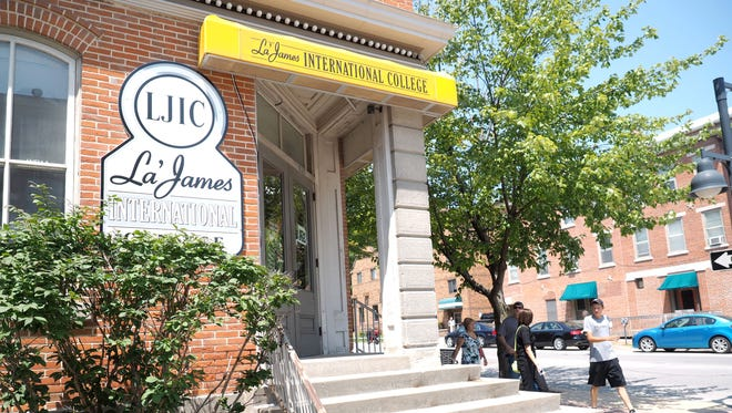 This is the La' James cosmetology school in Iowa City. Fort Dodge-based La' James International College reached a settlement with the Iowa Attorney General's Office in 2016 to forgive $2.1 million in student debts, significantly change its business practices, submit to outside oversight and pay $550,000.