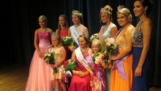 Cassidy Krom was crowned Union County Fair queen.