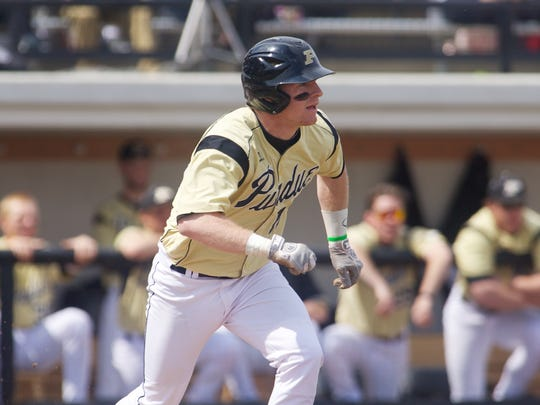 Sean McHugh is one of just two Purdue players who has seen action against Indiana.