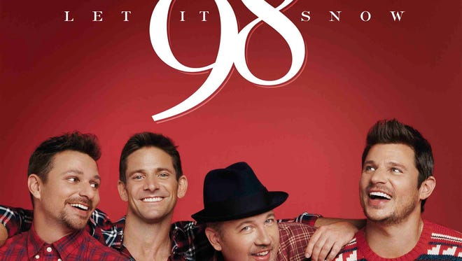 """98 Degrees will release a Christmas album, """"Let it Snow,"""" this fall."""