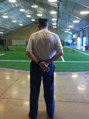 LeRoy Charles Thurston Jr. watching guard at 2/42 Community