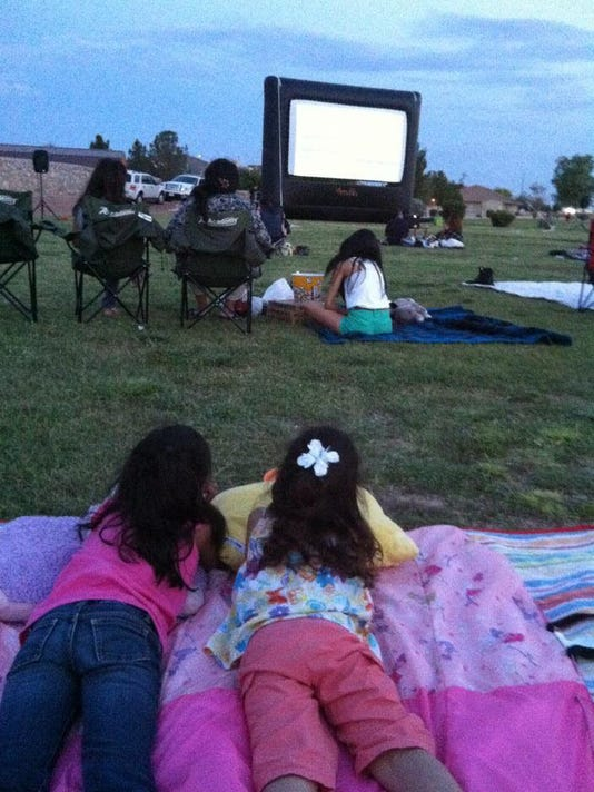 Families can enjoy free movies at various parks