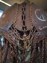 Detail of Eben Markowski and Heidi Mahoney's elephant