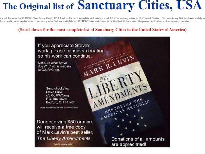 Map Of Sanctuary Citys In The Us Globalinterco - Map of us sanctuary cities