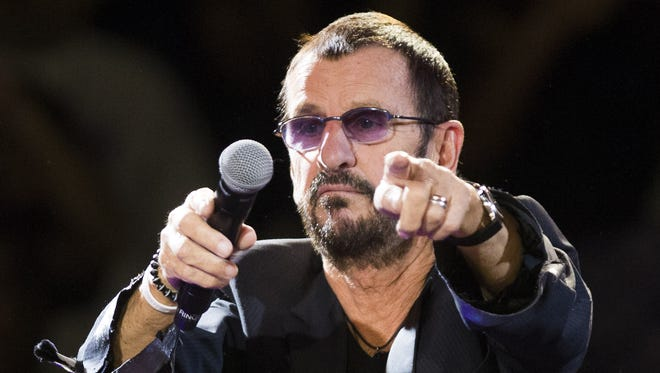 Ringo Starr performs with his All-Starr Band at Celebrity Theatre in Phoenix, Ariz. November 15, 2016.