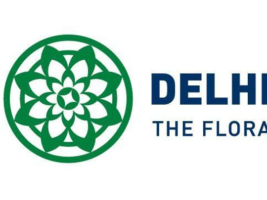 Another version of Delhi Township's new logo and coordinating graphics.