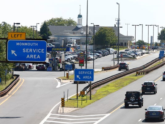 Parkway service area no fuel food in monmouth until may - Garden state parkway gas stations ...