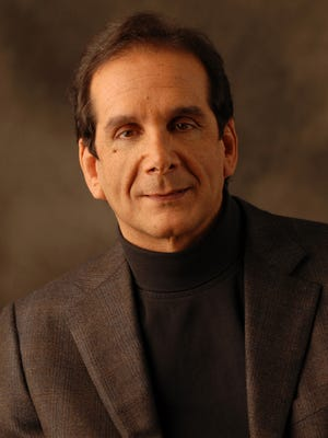 Syndicated columnist Charles Krauthammer.