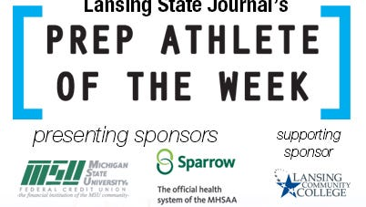 Pick the latest Lansing State Journal high school athlete of the week.