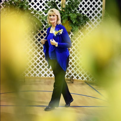 Sumrall Elementary Vice Principal Nell Henderson speaks
