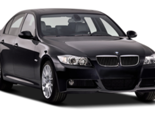 Cincinnati police say someone stole a black, 2007 BMW