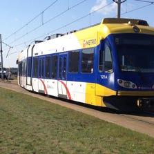 Blue Line train derails Saturday afternoon.