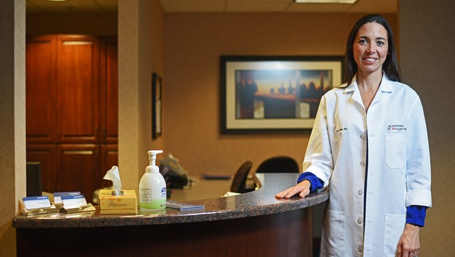 Dr. Cassie Hajek is director of medical genetics, education and clinical services at Sanford Health.