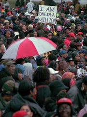 On Oct. 25, 1997, about 700,000 came to Philadelphia for the Million Woman March.