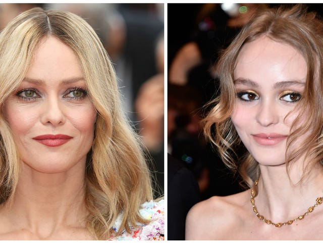 Cannes: Lily-Rose Depp looks stunningly like mother Vanessa